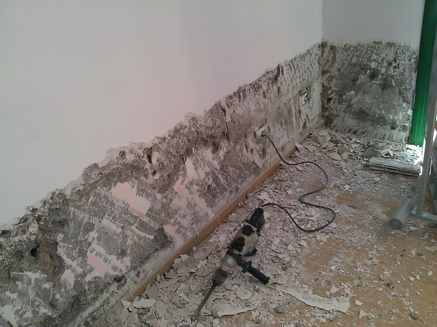 Oferta impermeabilizaci n de paredes desde 20 m2 - Eliminar moho paredes ...