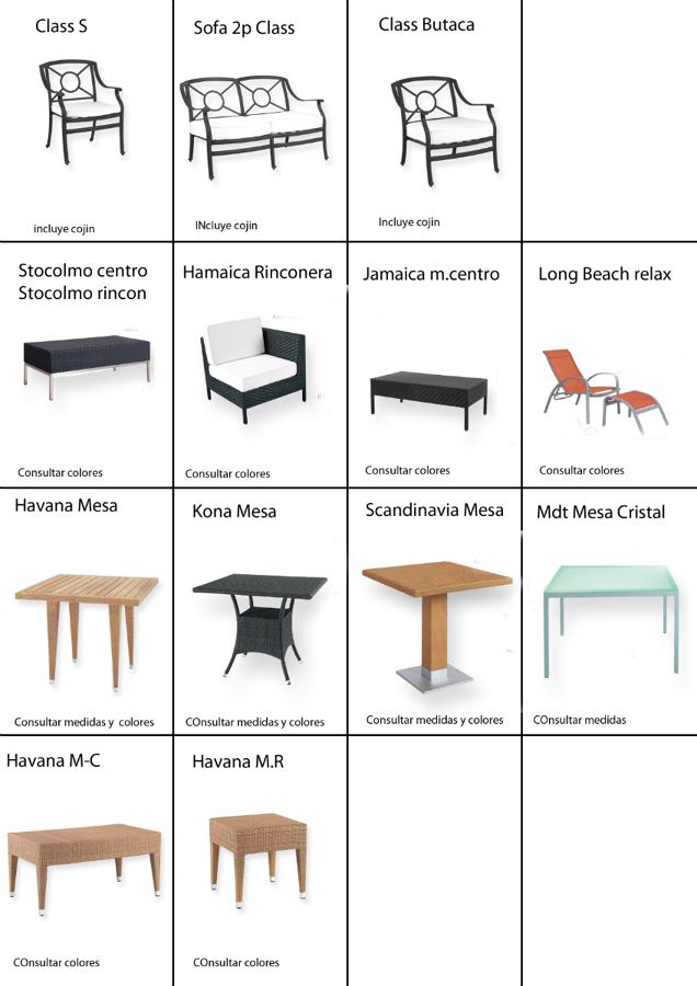 Ofertas de mobiliario de hogar y hosteleria desde 19 for Ofertas conjuntos de jardin