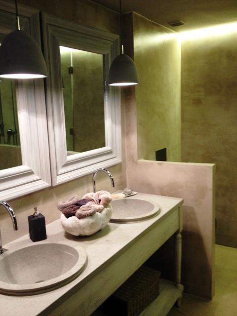 Cuartos De Baño En Microcemento:Cuarto baño microcemento