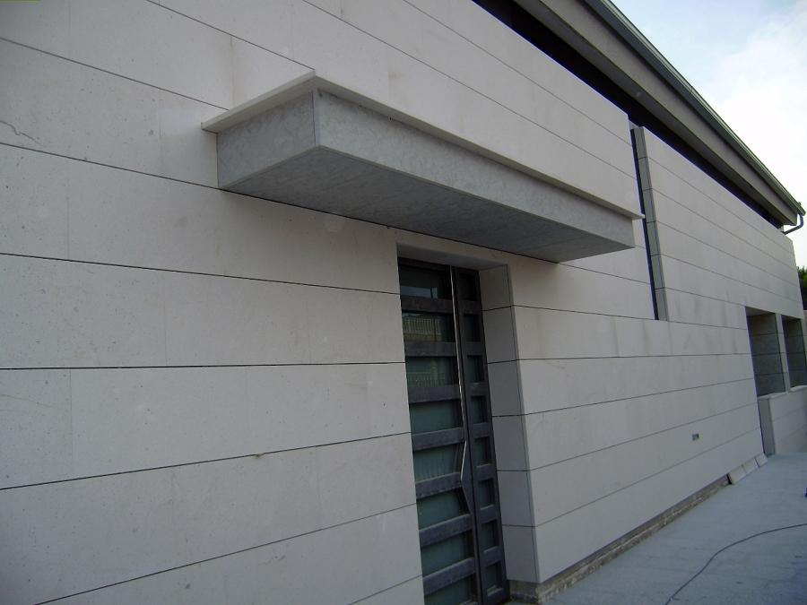 Oferta fachada ventilada 69 00 m2 instalaci n incluida - Piedra caliza fachada ...
