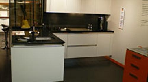 Liquidación de muebles de cocina de exposición