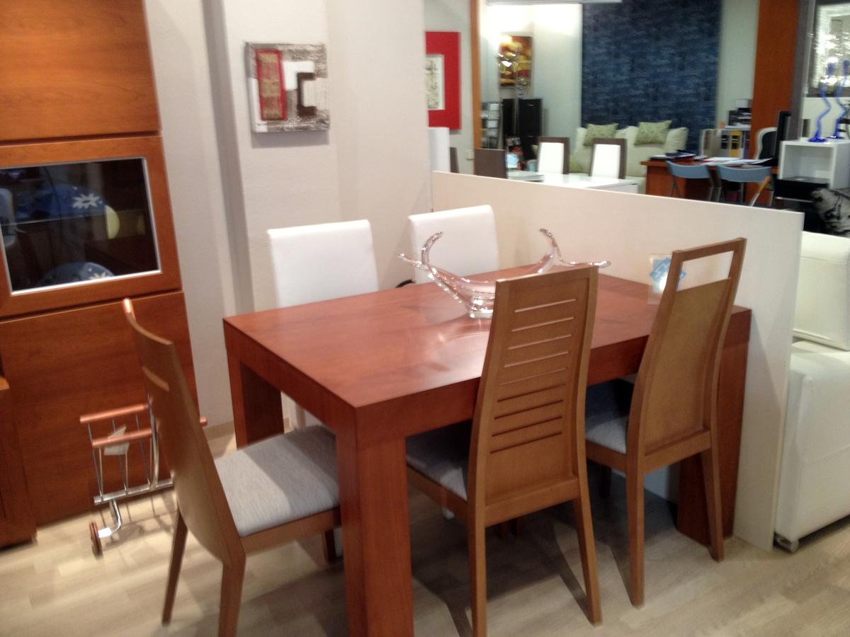 Exposiciones a precios extraordinarios ofertas muebles for Mesa comedor cerezo