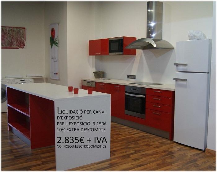 Liquidaci n muebles de cocina por cambio de exposici n for Ofertas muebles de cocina