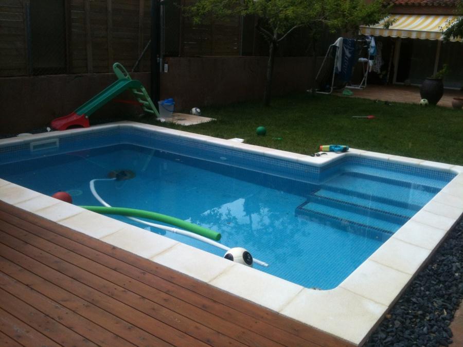 Oferta piscina 6x3 en gresite por ofertas construcci n piscinas - Construccion piscinas barcelona ...