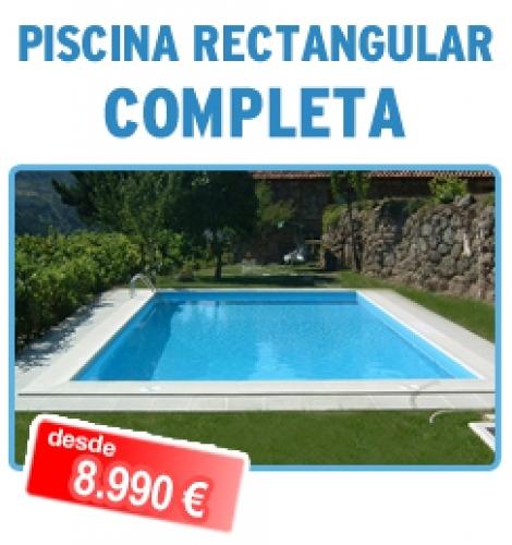 Oferta piscina 8x4 completa desde ofertas for Piscina 8x4 precio