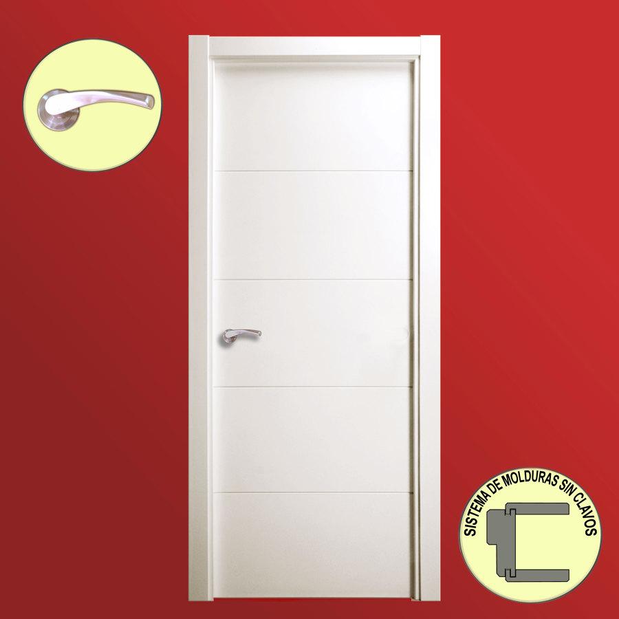 Oferta puertas lacadas en blanco instaladas desde 199 - Puertas de interior ofertas ...