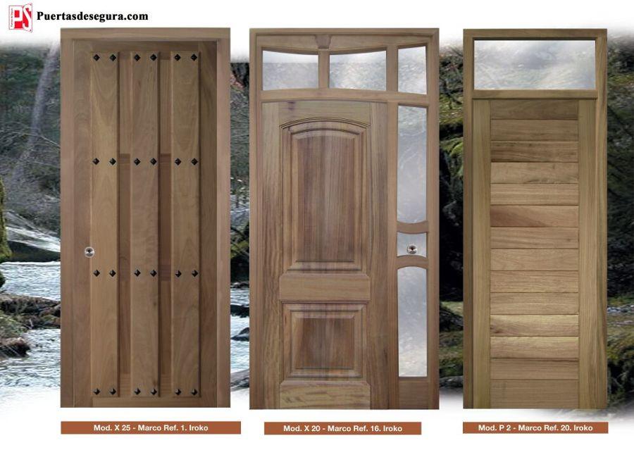 Puertas de madera ofertas materiales construcci n for Puertas de madera en oferta