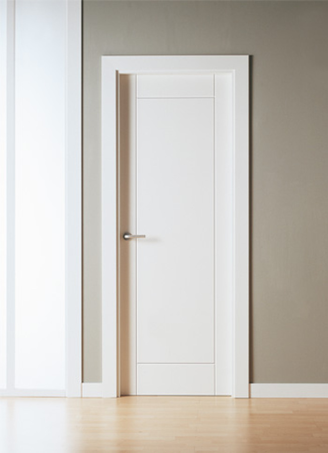 Oferta en puertas macizas lacadas en blanco ofertas for Puertas macizas exterior