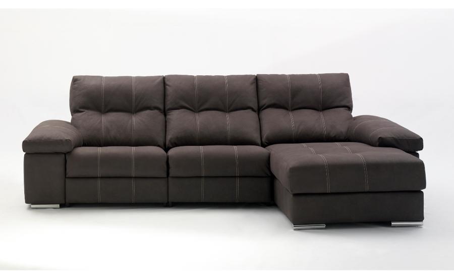 Sof chaise longue 294 con 1 relax electrico sara ardi for Sofas chaise longue ofertas