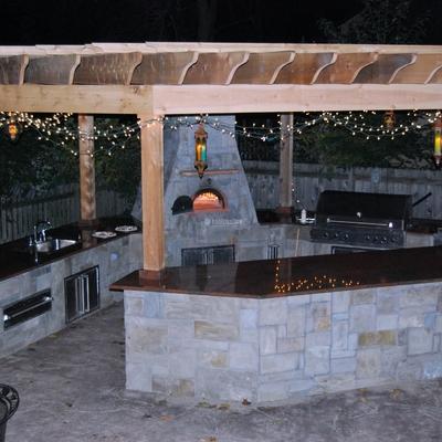Oferta 5% Cocina De Exterior Con Barbacoa De Obra En Murcia