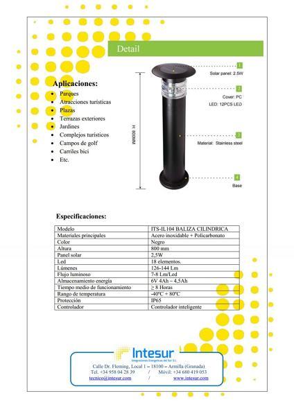 Baliza solar