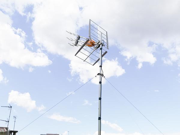 Cambio de antena televisión en Mataró.