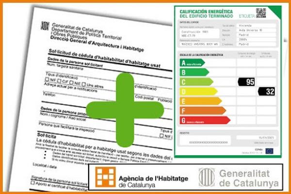 Certificado energético y cédula de habitabilidad