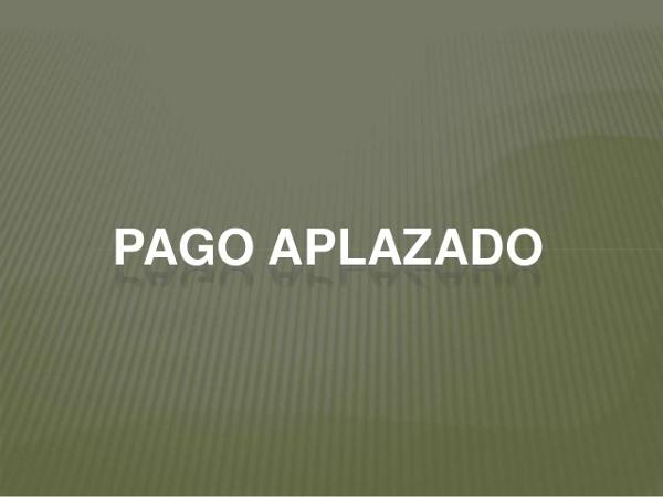 FACILIDADES DE PAGO: DESINFECCION Y SERVICIOS GESTION DE PLAGAS