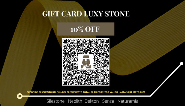 GIFT CARD LUXY STONE 10% OFF