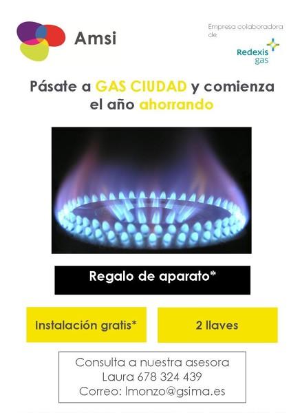 Instalación gas ciudad en Finca