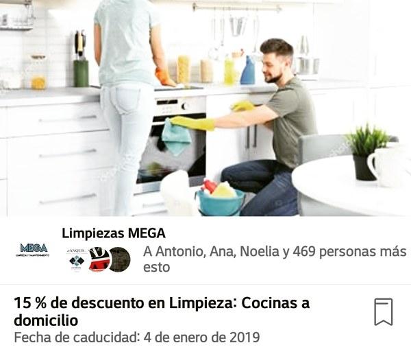 Limpieza Cocinas a particulares