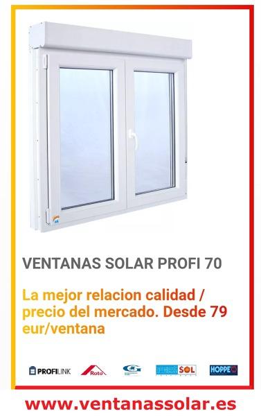 OFERTA VENTANAS SOLAR PROFI 70