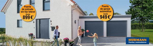 Promoción puertas de entrada y de garaje Hörmann
