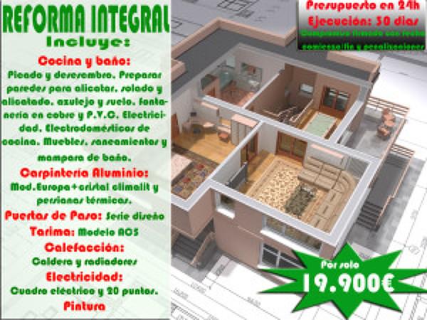 Reforma Integral por 19.990€