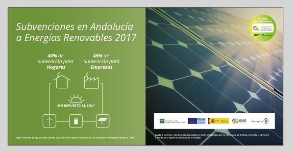 Subvenciones en Andalucia