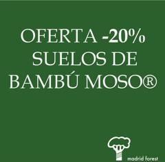 20% descuento en suelos de bambú Moso