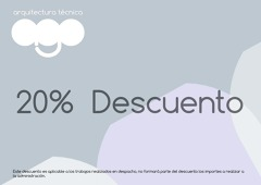 20% Descuento promocional