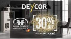 30% DESCUENTO F.FRANCO