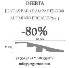 80% descuento en Juntas de Transición Pergo