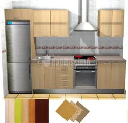 Muebles de cocina en collado villalba madrid mobiliario for Cocina 3 metros pared