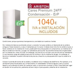 Caldera Ariston Cares Premium 24 kw a Gas Natural