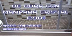 CAMBIA TU BAÑERA POR PLATO DUCHA DE OBRA POR 1290€