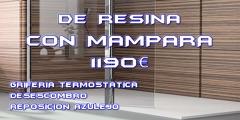 CAMBIA TU BAÑERA POR PLATO DUCHA DE RESINA 1190€