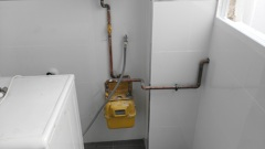 Cambio instalación de gas reparación termo
