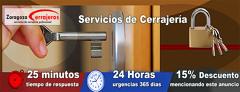Cerrajeros Zaragoza Baratos -21% Descuento*