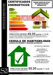 Certificación Energética y Cédulas de Habitabilidad