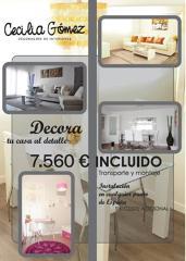 ¡¡ Decora tu casa por solo 7.560€ !!