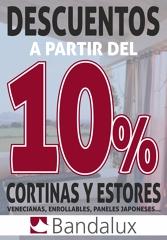 DESCUENTOS A PARTIR DEL 10% EN NUESTRA GAMA BANDALUX