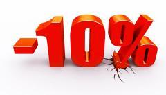 Gana el 10%
