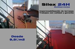 Impermeabiliza tu terraza dese 9,5€/m2