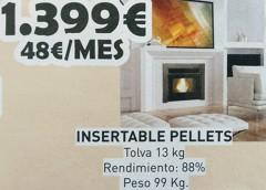 Insertable de pellets