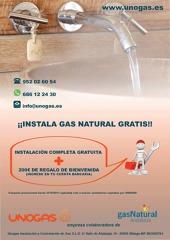 Instala gas natural en tu vivienda completamente gratis y además llévate 200€ de regalo de bienvenida