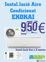 Instalación Aire Acondicionado EKOKAI 950€