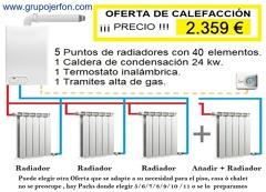 INSTALACION DE CALEFACCION DE GAS
