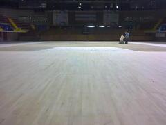 lijado suelo de madera