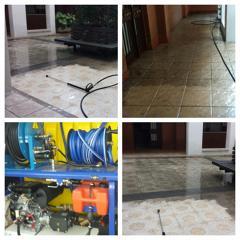limpieza de patios y garajes