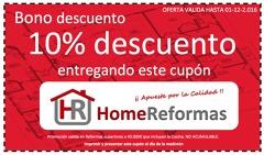 Oferta 10% de Descuento al contratar su Reforma