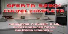 **OFERTA COCINA COMPLETA 5290€**