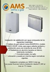 Oferta en calefacción