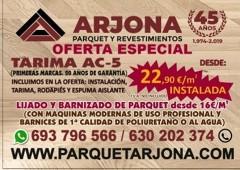 OFERTA ESPECIAL TARIMA AC-5